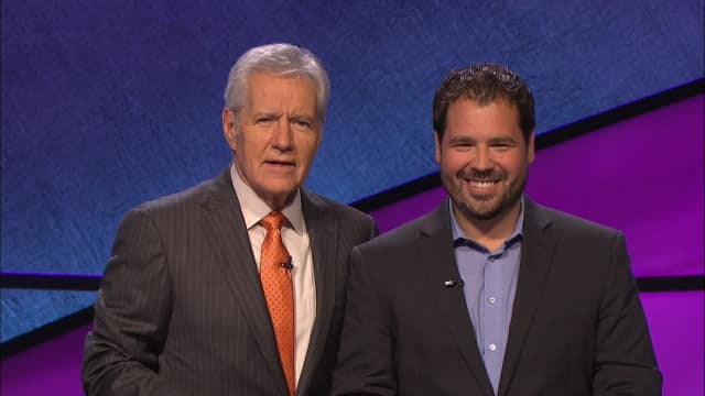 """Scott Bergeron, a business development manager from Norwalk, will appear on """"Jeopardy!"""" this week."""