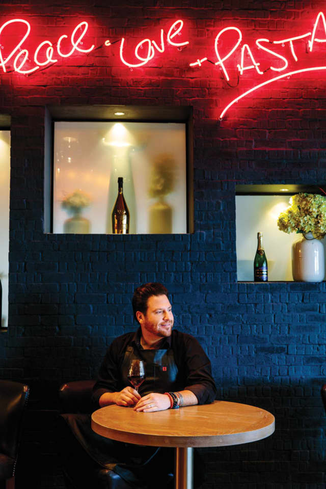 "Celebrity chef Scott Conant has been a judge on ""Chopped"" for the past 10 years and owns five restaurants around the country."