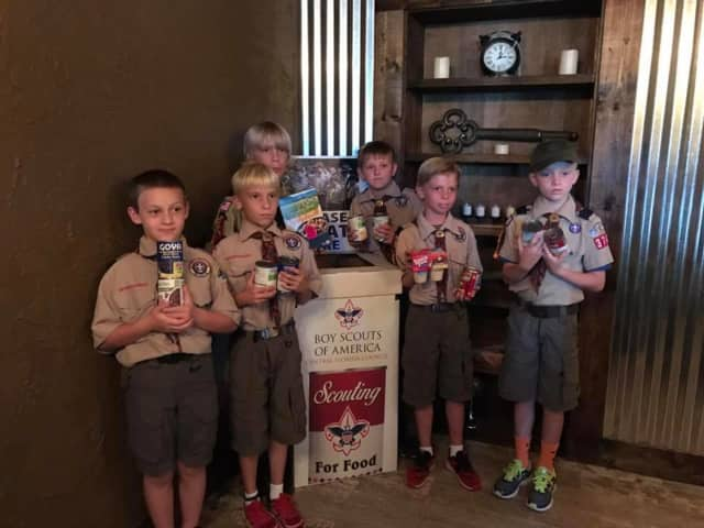In addition to the joy of helping others, Scouting for Food gives young people a sense of responsibility and teaches leadership.