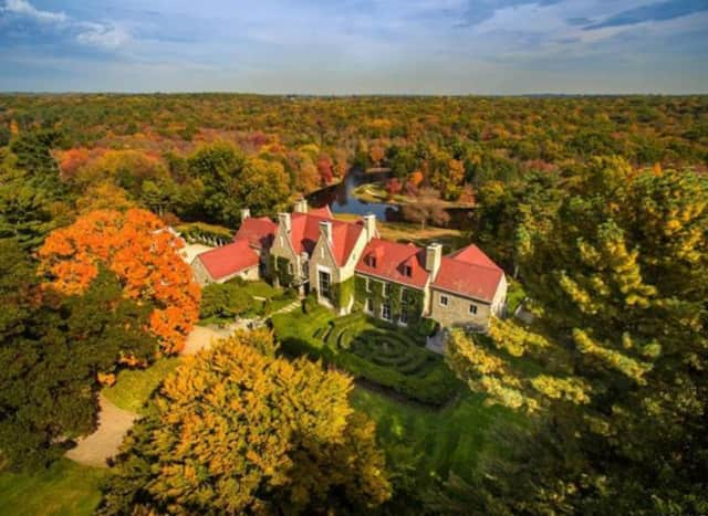 The Hillendale estate in Pound Ridge is for sale for $75 million.