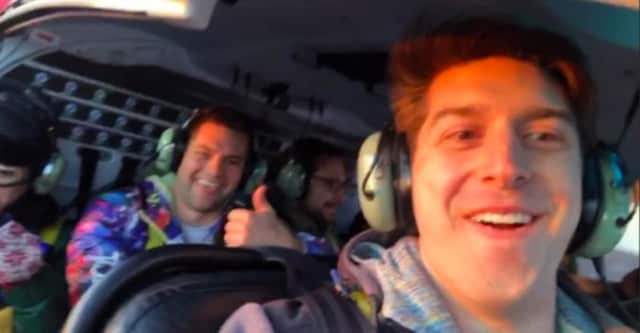Trevor Cadigan captures the final moments of his life inside of the New Jersey helicopter that crashed in the East River Sunday.