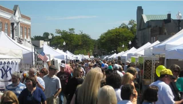 Ridgewood's annual street fair draws crowds from throughout Bergen County.