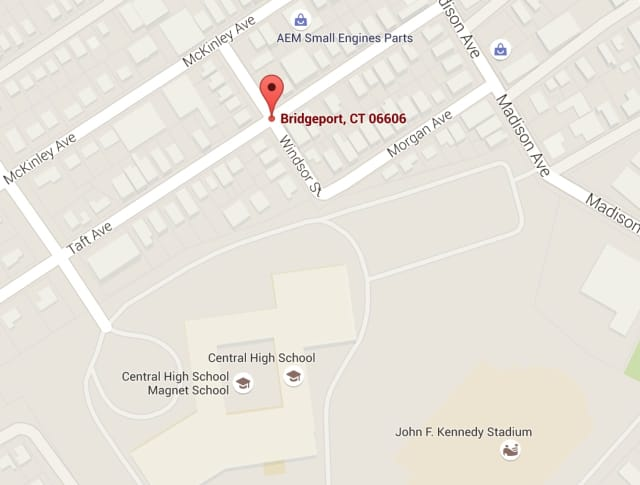 A 22-year-old man was shot Monday evening near Taft Avenue and Windsor Street in Bridgeport.