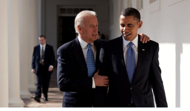 Vice President Biden with President Obama in a file photo.