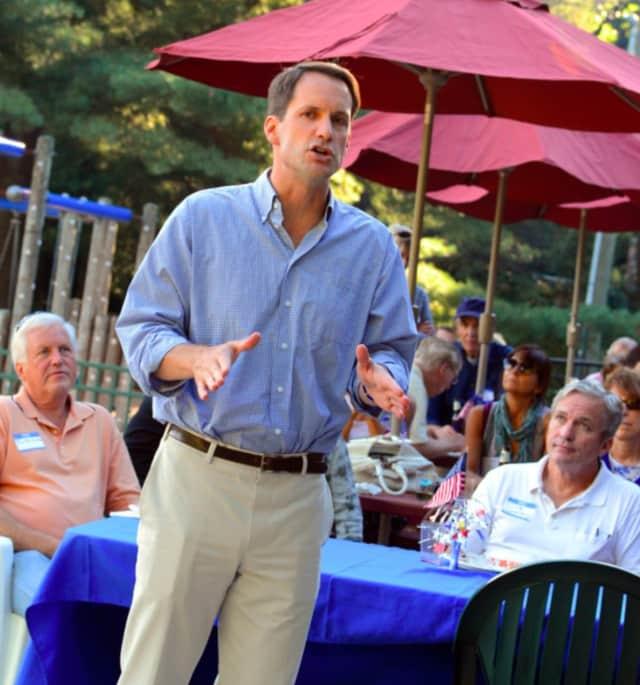 U.S. Representative Jim Himes' congressional district includes New Canaan.
