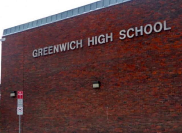 Greenwich High is the only school closed Tuesday.