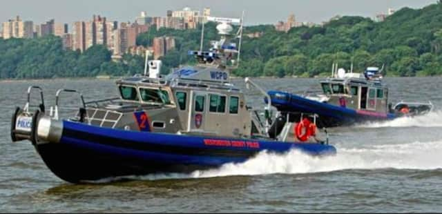 Westchester County Police recovered a dead body from the Hudson River off Irvington.