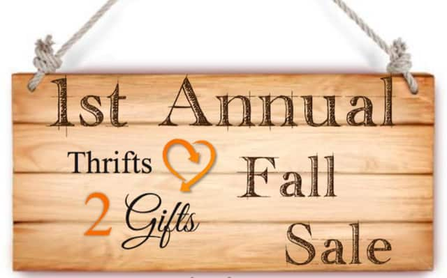 Regional Hospice and Home Care will host a fall sale on Saturday, Sept. 12.