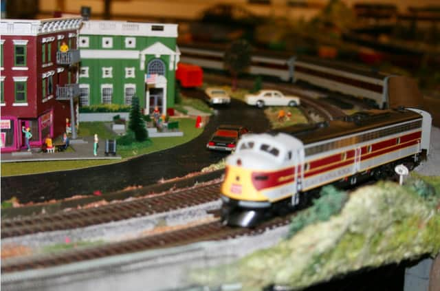 The Mahwah Museum model train shows will be held Oct. 3.
