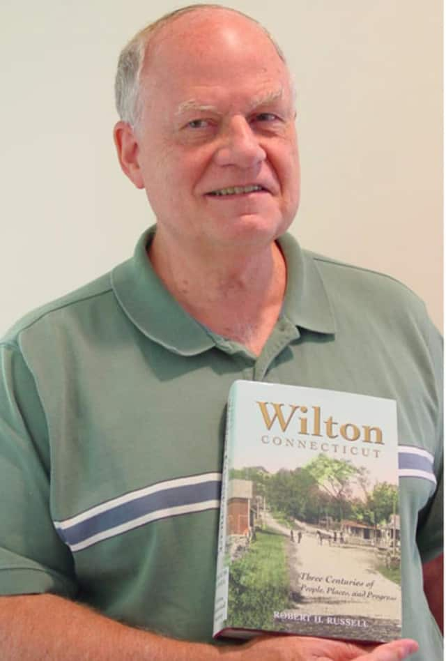 Former First Selectman and Wilton historian Bob Russell will lead a walking tour of Wilton Historical Society's preserved Lambert Corner buildings on Saturday.