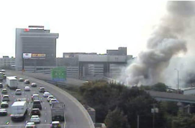The EPA is currently cleaning up the site of a Sept. 11, 2014 warehouse fire that contains hazardous materials.