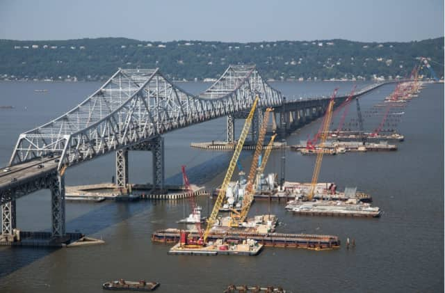 The body was recovered on the Rockland side of the bridge.
