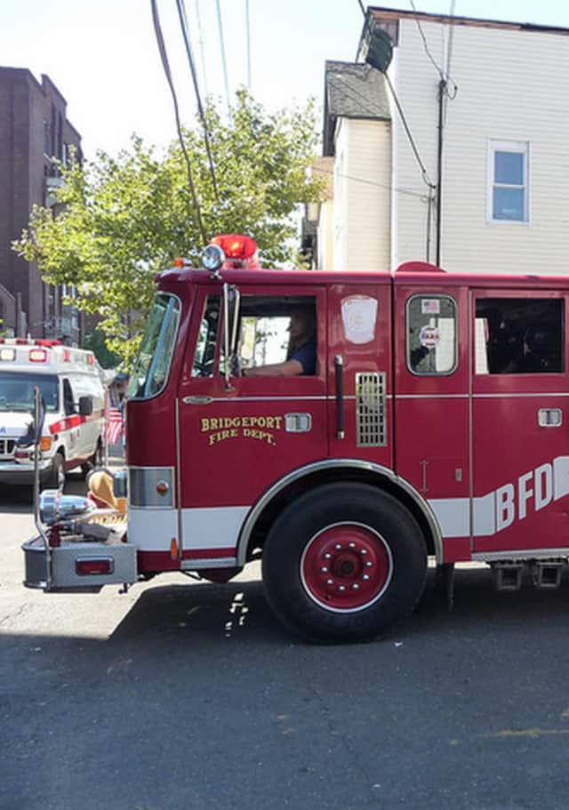 The City of Bridgeport will pull all of Fire Department apparatuses out in front of each Fire Station. At precisely 9:59 a.m. Friday, the apparatuses will then sound their sirens while firefighters, police officers, and officials render a salute.