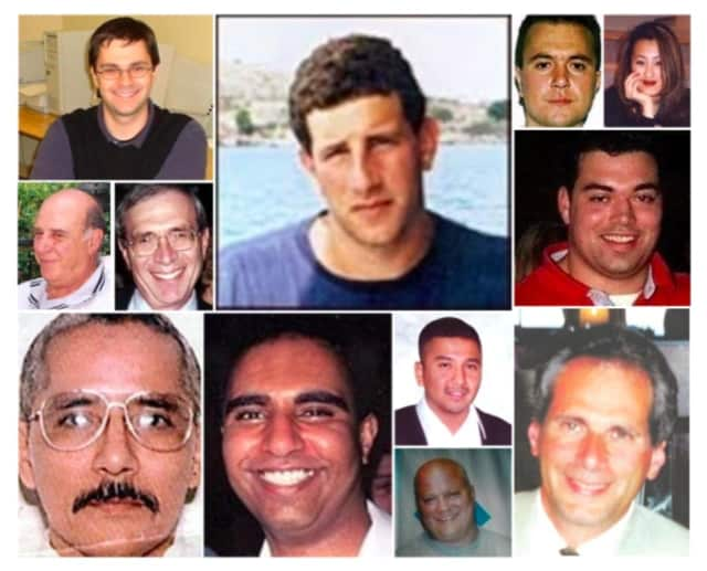 Passaic County residents who lost their lived in the terrorist attacks of 9/11.