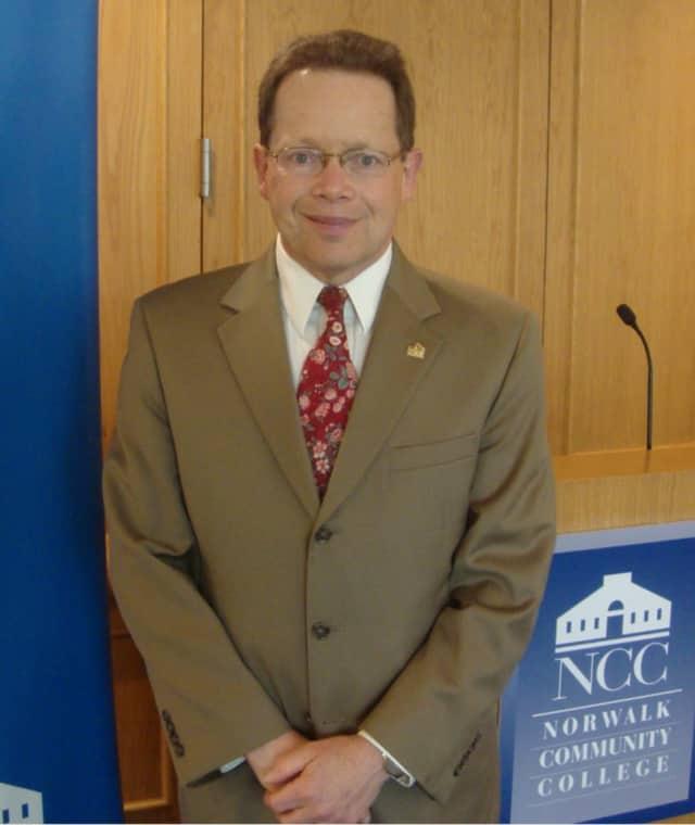 Norwalk Community College President David Levinson.