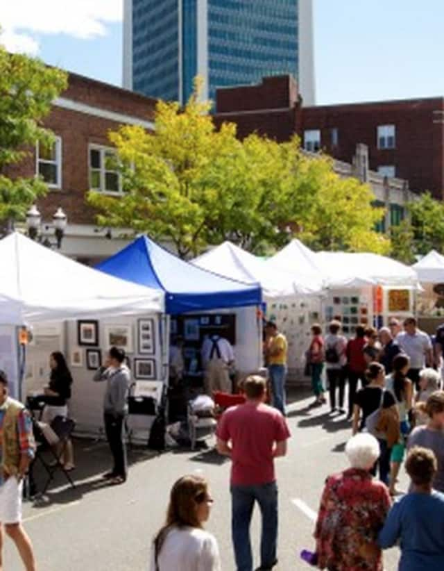 Arts & Crafts on Bedford will return Sept. 19-20 to downtown Stamford.