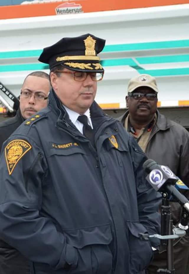 Police Chief Joseph Gaudett Jr.