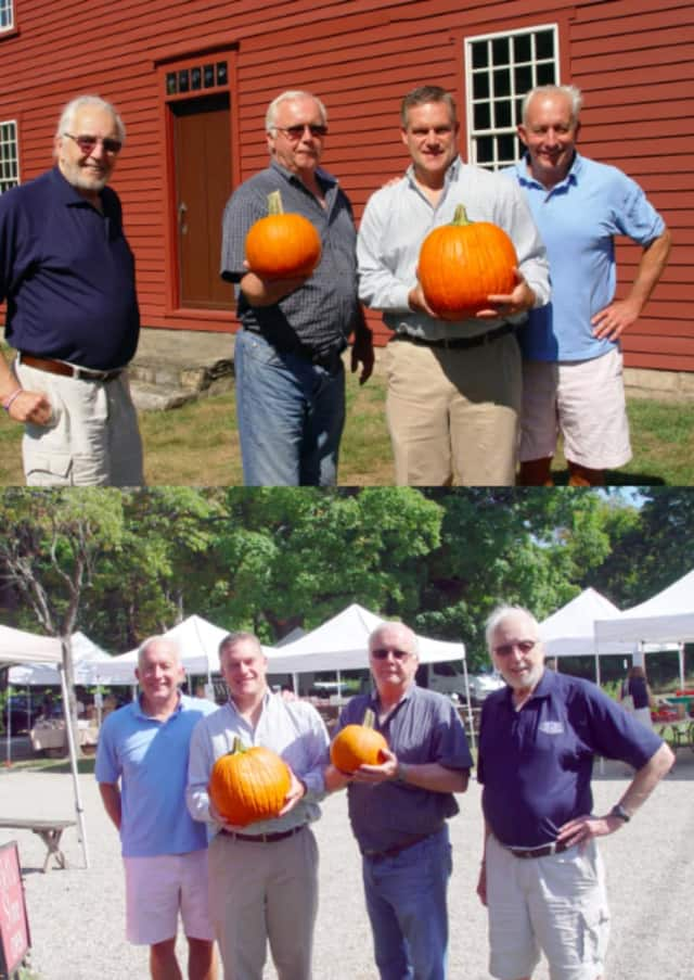The Kiwanis Club will be selling pumpkins on Saturday at the Wilton Historical Society.