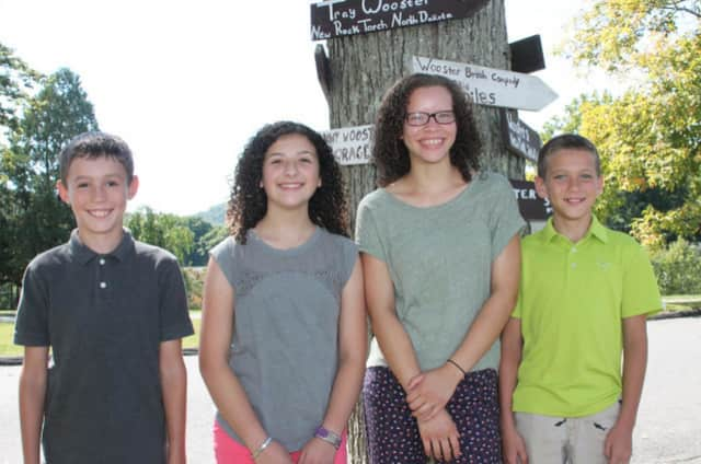 Daniel Tantsyura, Riley Damiano, Dani Lewis and Brandon Caraballo were elected to the Student Council at the Wooster School in Danbury.