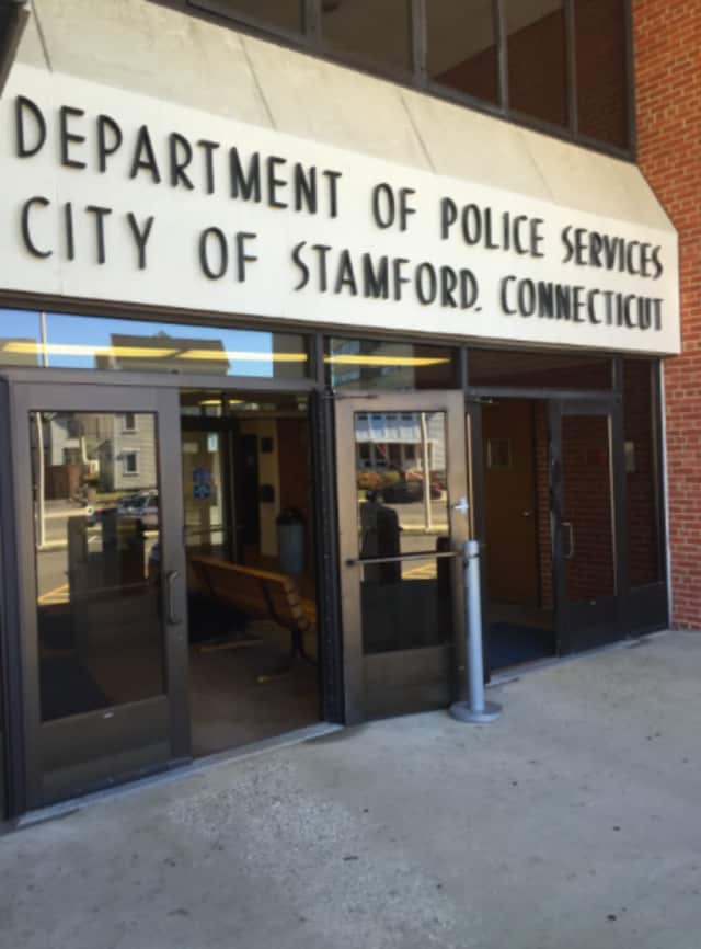 Stamford Police arrested a Meriden man who refused to leave a rooftop during Alive@Five.