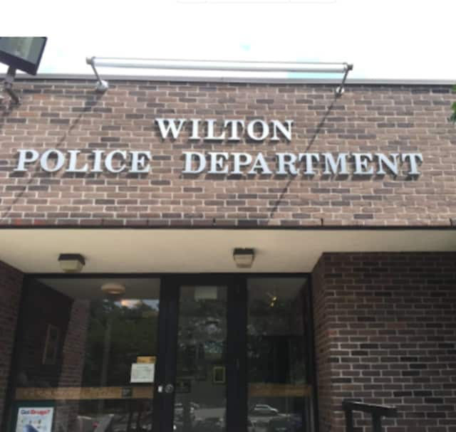 Wilton police arrested a Fairfield man for not reporting an auto crash.