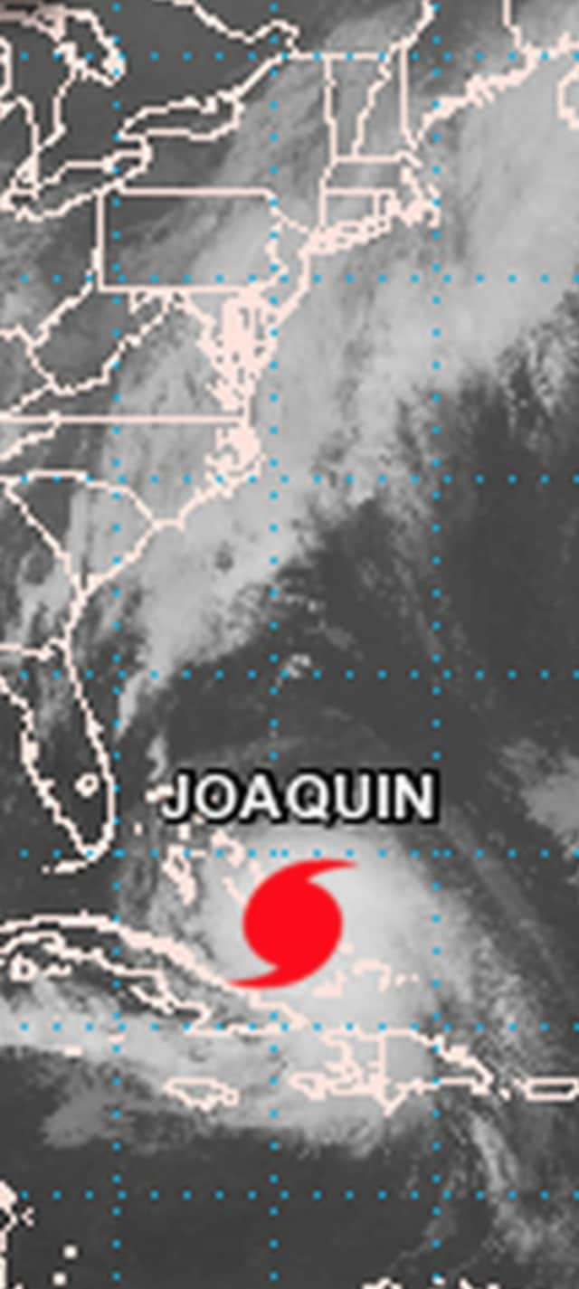 Hurricane Joaquin has been upgraded to a Category 4, with wind speeds of up to 140 mph, making it the strongest hurricane of the season.