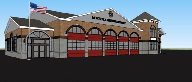 The proposed Montvale firehouse.