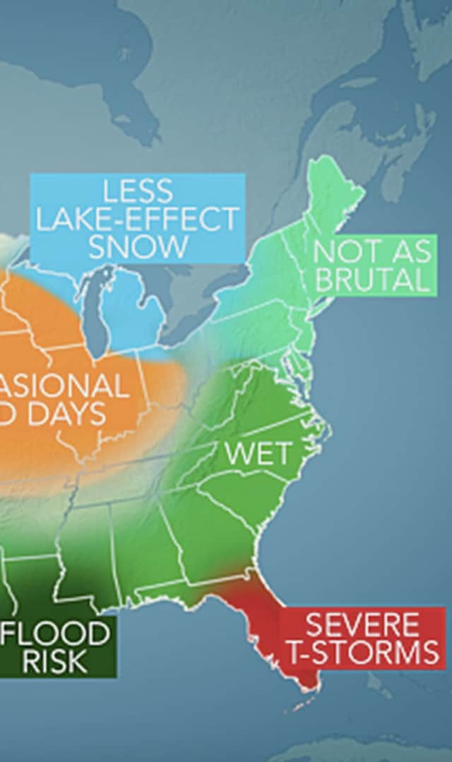 A look at how Accuweather sees winter 2015-16 in the area.