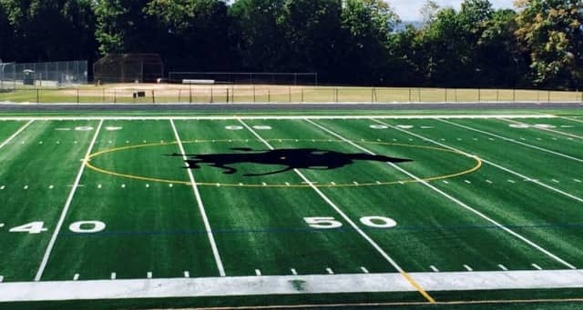 Sleepy Hollow's football field.