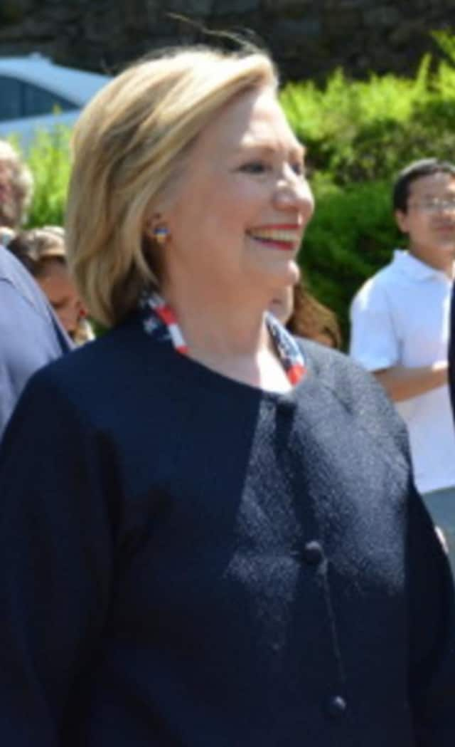 Chappaqua's Hillary Clinton received the endorsement of the Westchester Democratic Committee in her bid for President.