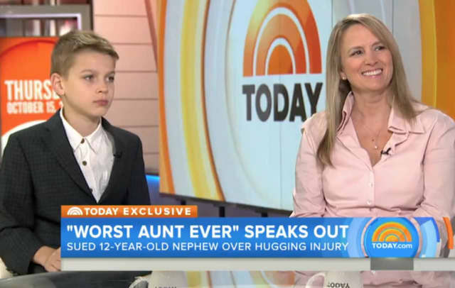 Jennifer Connell appears on the 'Today' show Thursday with her nephew, Sean Tarala, to explain her lawsuit against him.