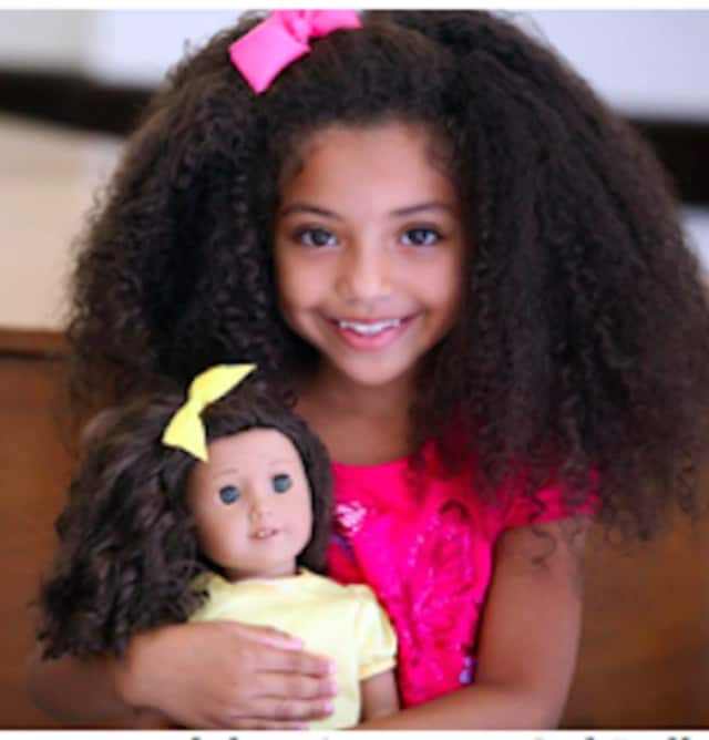 Miranda of Stamford will walk the runway as an American Girl Doll Model for a local Fashion Show.