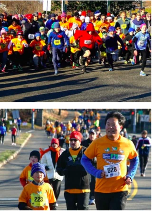 Register for thre Greenwich Alliance for Education's fifth annual Turkey Trot Nov. 28