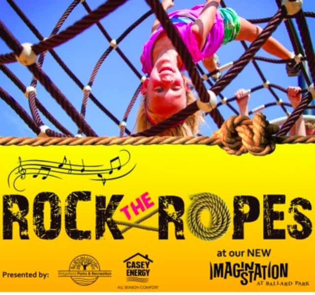 Rock the ropes 2015 in Ridgefield on Nov. 3.