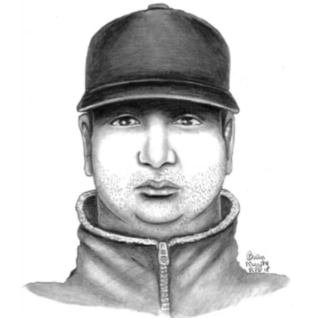 Stamford police released a sketch of a man wanted for questioning in a sexual assault case.