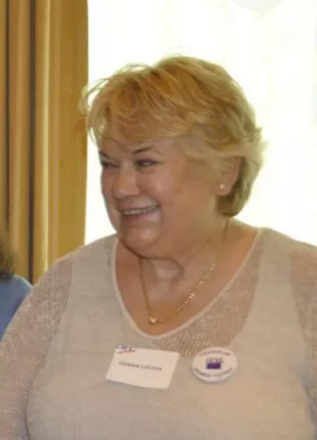 Celeste LaCroix, head of the League of Women Voters in Westport.