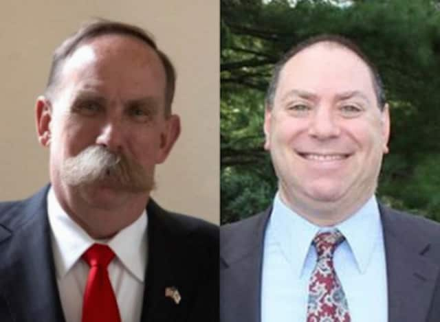 Incumbent Pound Ridge Supervisor Dick Lyman faces Councilman Dan Paschkes as his challenger.