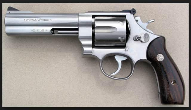 A Colt. 45