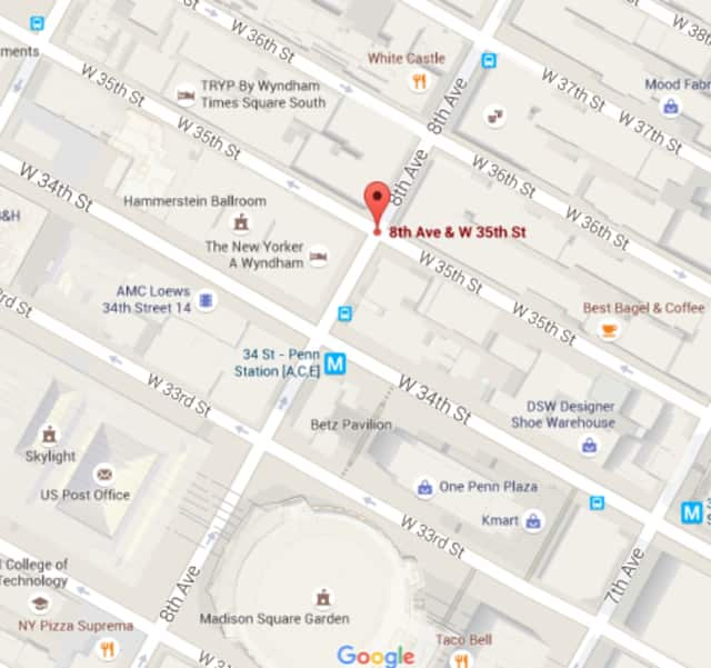 A shooting occurred Monday morning near Penn Station.