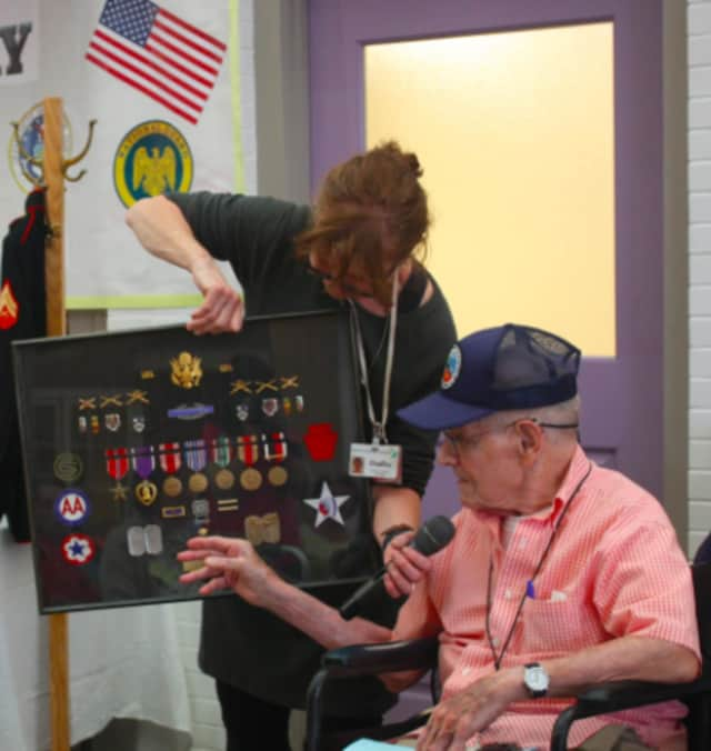Anthony Moody shared his memories of World War II.