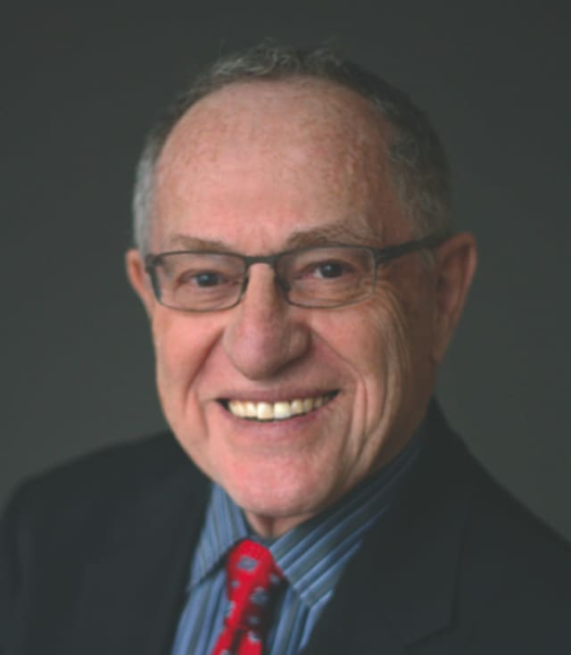 American lawyer, author and political commentator Allan Dershowitz is set to speak on the history of Jewish lawyers Tuesday, Dec. 1, in Greenwich, Conn.
