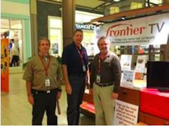 (L-R) Frontier employees Lou Raymond (Technical Supervisor); Gerry Fritch (Technical Supervisor) and Gregg Wetmore (Technical Supervisor).