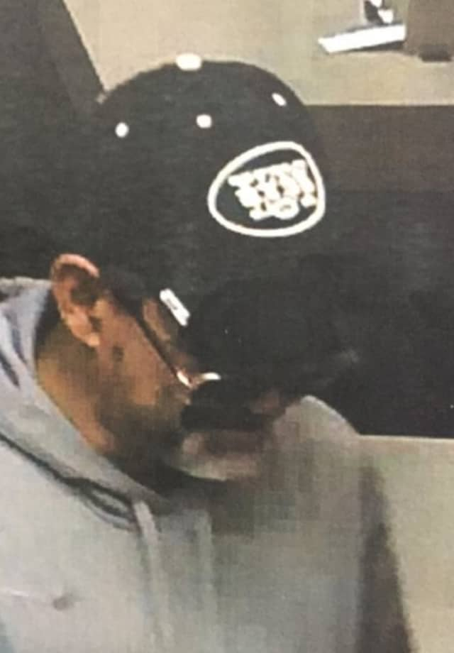 Spring Valley Police have released this photo of the suspect in a Wells Fargo bank robbery on Thursday.
