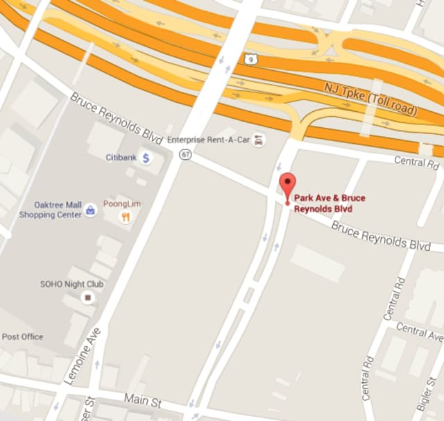 A part of Bruce Reynolds Boulevard in Fort Lee will be closed Friday.