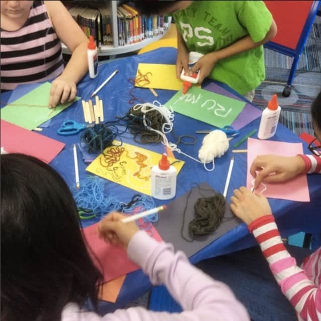 Create something to keep forever at the Lee Memorial Library in Allendale