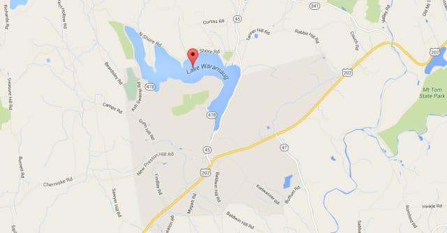 A Stamford man died Sunday in Lake Waramaug in Kent.