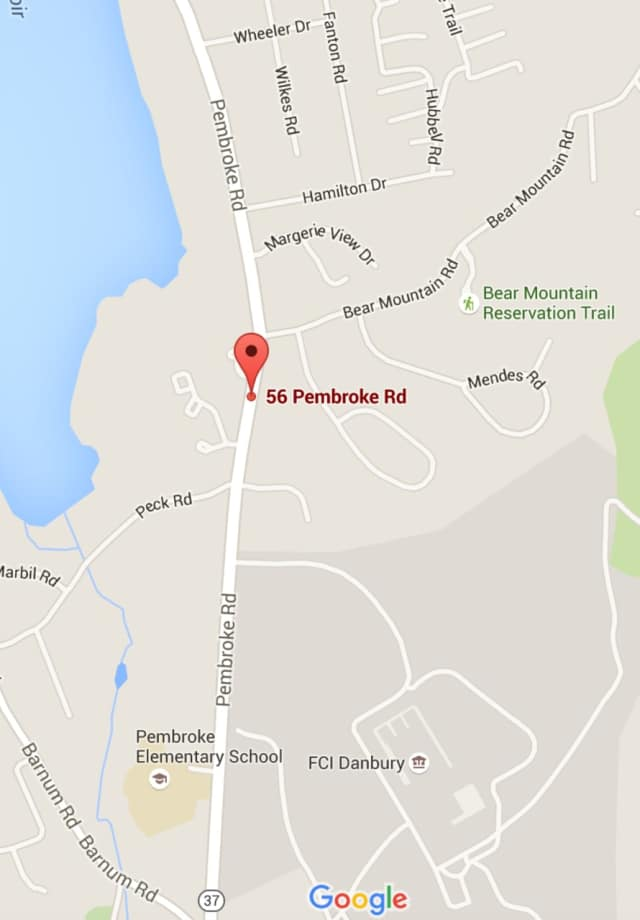 A man was killed in a two-car crash Tuesday near 56 Pembroke Road in Danbury.