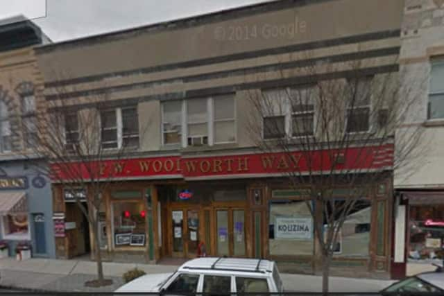 The Nyack Village Theatre is upstairs in the historic Woolworth Way Building.
