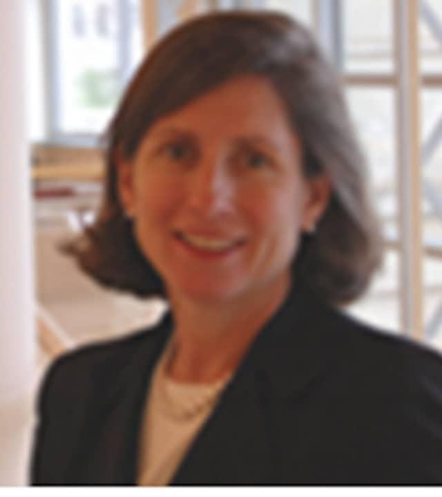 Haley Elmlinger, President of Greenwich Library Board of Trustees