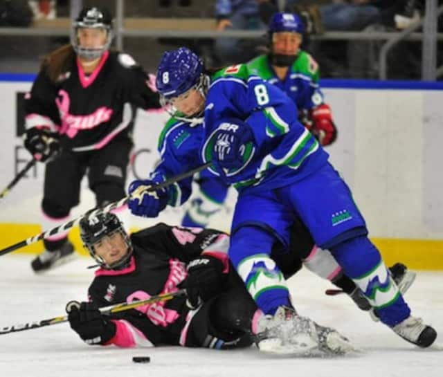 The Connecticut Whale women's hockey team will return to Stamford to play its third season at the Terry Conners Ice Rink.